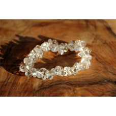 Bracelet, splitter - Clear Crystal