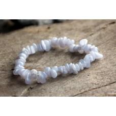 Bracelet, splitter - Chalcedony