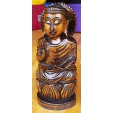 Buddha Vitarka, wood carving 15cm