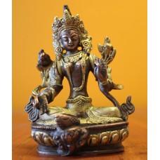 Green Tara, Bodhisattva - 13 cm