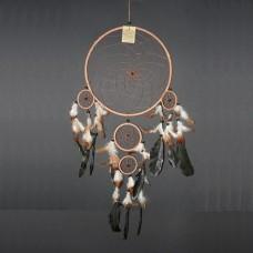 Dreamcatcher brown, large