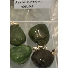 Armband, splitter - Jade/Nefriet