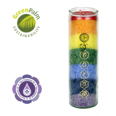 7 Chakra scented candles large