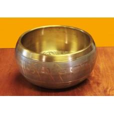 Singing bowl Machine made, Buddha - big
