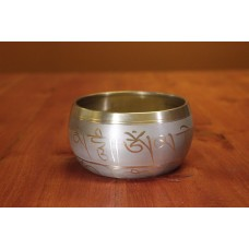 Singing bowl Machine made, Buddha - small