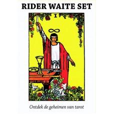 Rider Waite Tarot set, 78 kaarten + handboek