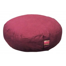 Meditation cushion, low model - aubergine