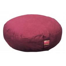 Meditation cushion, low model - aubergine