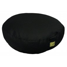 Meditation cushion, low model - black