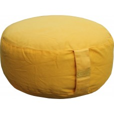 Meditation cushion, Yellow