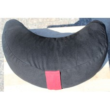 Meditation cushion, Half Moon - black