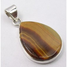 Tiger Eye pendant, droplet