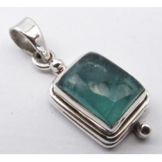 Apatite pendant, rectangle