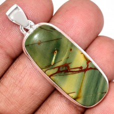 Jasper Pendant, Cherry Creek Jasper