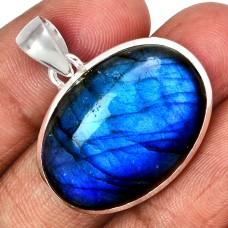 Labradorite pendant, Blue Labradorite