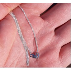 Silver necklace 1,46mm, 60cm