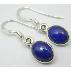 Lapis Lazuli earrings, oval