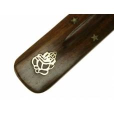Incense burner, wood Ganesha
