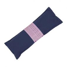 Oogkussen, lavendel - blauw