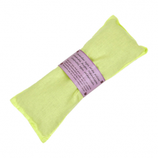 Eye pillow, lavender - green