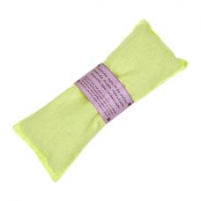 Oogkussen, lavendel - groen