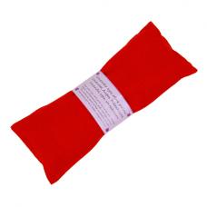 Eye pillow, lavender - red