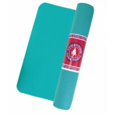 Yoga mat, turquoise